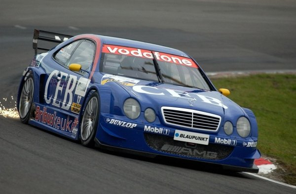 Local hero Patrick Huisman (NED) CEB AMG-Mercedes CLK.DTM Championship, Rd9, Zandvoort, Holland. 29 September 2002.DIGITAL IMAGE