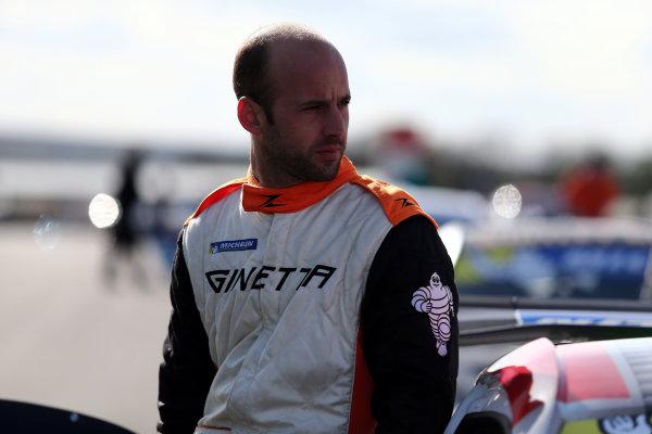 2017 Ginetta GT4 Supercup, Donington Park, 15th-16th April 2017 Tom Hibbert Ginetta G55 World copyright. JEP/LAT Images