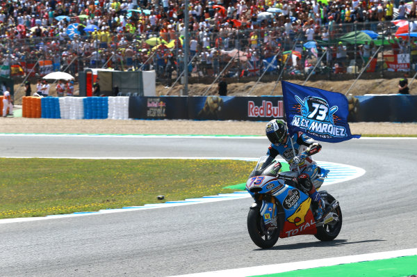 2017 Moto2 Championship - Round 4 Jerez, Spain Sunday 7 May 2017 Race winner Alex Marquez, Marc VDS World Copyright: Gold & Goose Photography/LAT Images ref: Digital Image 668724
