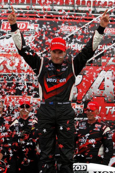 16-18 July, 2010, Toronto, Ontario CAWill Power celebrates victory©2010, Dan Streck, USALAT Photographic