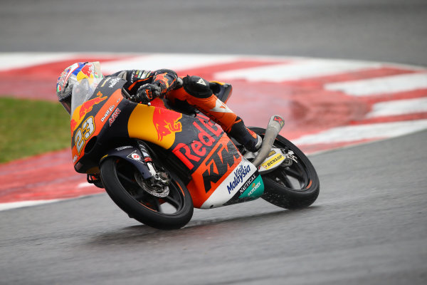 2017 Moto3 Championship - Round 13 Misano, Italy. Sunday 10 September 2017 Niccolo Antonelli, Red Bull KTM Ajo World Copyright: Gold and Goose / LAT Images ref: Digital Image 7866