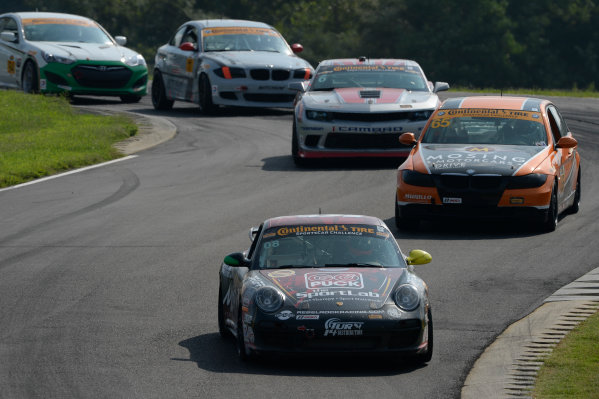 22-24 August  2014, Alton, Virginia USA 08, Porsche, 997, GS, Martin Barkey, Kyle Marcelli ©2014, Richard Dole LAT Photo USA