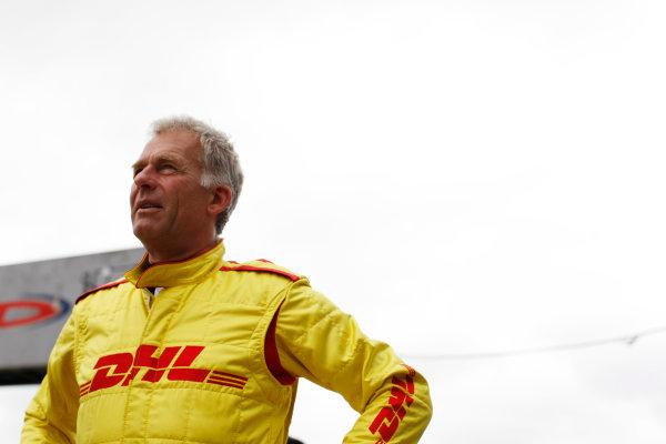 FIA Formula E Test Day, Donington Park, UK.  3rd - 4th July 2014.  Christian Danner. Photo: Zak Mauger/FIA Formula E ref: Digital Image _P7T1064