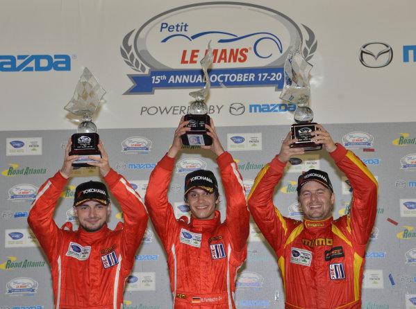 17-20 October, 2012, Braselton, Georgia USA.#30 NGT Motorsports  GTC class winners .(c)2012 Dan R. Boyd, LAT Photo USA