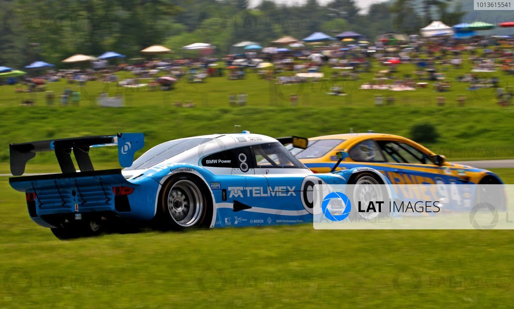 30 May, 2011, Lakeville, Connecticut USA The #01 BMW Riley of Scott Pruett and memo Rojas is hown in action. ©2011, R.D. Ethan LAT Photo USA