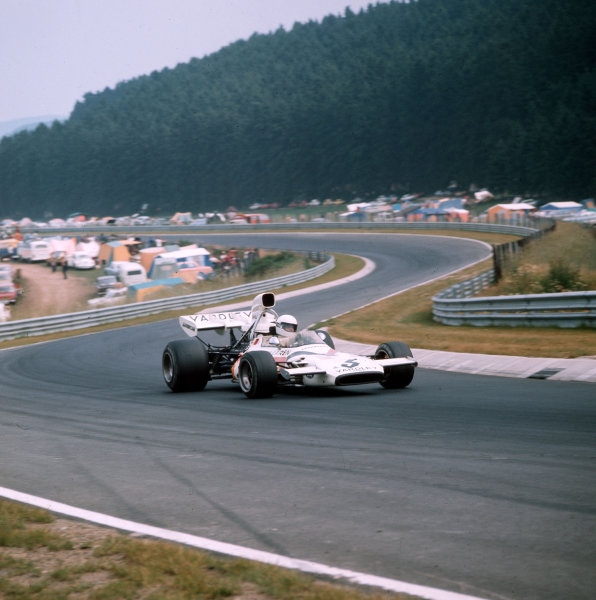 Nurburgring, Germany.28-30 July 1972.Brian Redman (McLaren M19A-Ford) 5th position.Ref-3/5126M.World Copyright - LAT Photographic