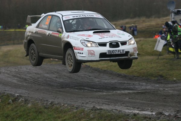 2007 British Rally ChampionshipWales Rally GB, 30thNovember  - 2nd December 2007,David Higgins/SubaruWorld Copyright: Ebrey/LAT Photographic