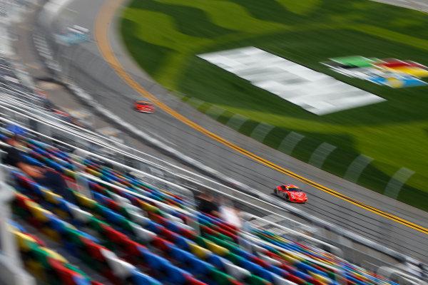 2017 BMW Endurance Challenge at Daytona Daytona, Florida, USA. 26-27 January 2017. 18, Porsche, Porsche Cayman, ST, Aurora Straus, Connor Bloum, Nick Longhi World Copyright: Jake Galstad/LAT Images