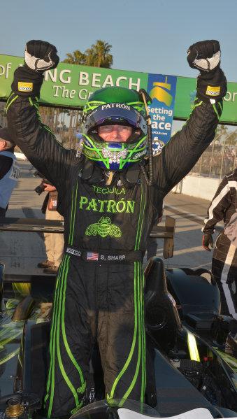 19-20 April, 2013, Long Beach, California.#01 Extreme Speed Motorsports Scott Sharp, P2 class winner ©2013 Dan R. Boyd LAT Photo USA
