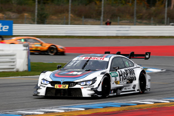 2017 DTM Round 9  Hockenheimring, Germany  Friday 13 October 2017. Tom Blomqvist, BMW Team RBM, BMW M4 DTM  World Copyright: Alexander Trienitz/LAT Images ref: Digital Image 2017-DTM-HH2-AT2-0266