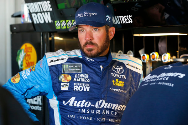 Monster Energy NASCAR Cup Series Federated Auto Parts 400 Richmond Raceway, Richmond, VA USA Friday 8 September 2017 Martin Truex Jr, Furniture Row Racing, Auto-Owners Insurance Toyota Camry World Copyright: Russell LaBounty LAT Images