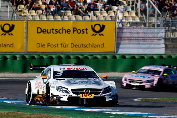 2017 DTM Round 9  Hockenheimring, Germany  Sunday 15 October 2017. Paul Di Resta, Mercedes-AMG Team HWA, Mercedes-AMG C63 DTM  World Copyright: Alexander Trienitz/LAT Images ref: Digital Image 2017-DTM-HH2-AT3-2359