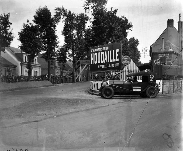 André D'Erlanger / George Duller, Bentley Motors Ltd., Bentley 3 Litre Speed.