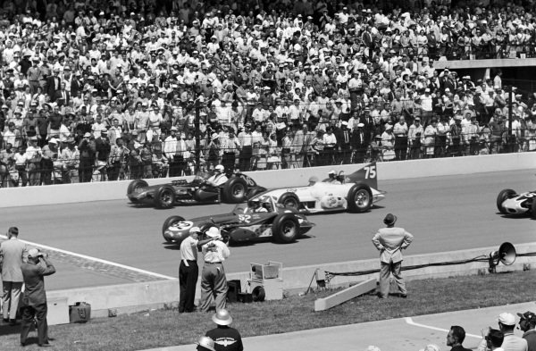 Lloyd Ruby, John Zink, Watson Offenhauser, battles with Art Malone, Andy Granatelli, Kurtis Novi, and Bob Veith, Racing Associates, Porter Offenhauser.