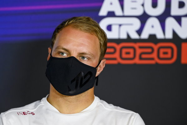 Valtteri Bottas, Mercedes-AMG Petronas F1 in the press conference