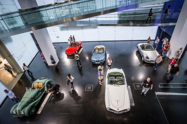BMW roadsters display