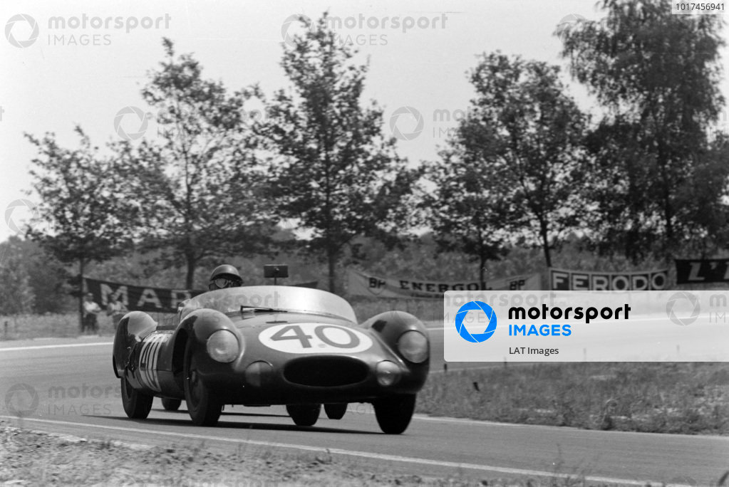 Jack Brabham / Ian Raby, Cooper Car Co, Cooper T39- Coventry Climax FPF.