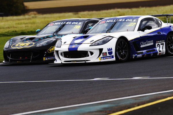 Colin White - CWS Motorsport Ginetta G55 Tom Emson - Elite Motorsport Ginetta G55