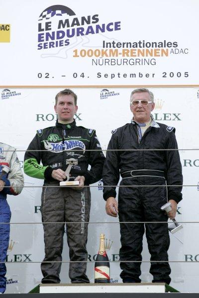 2005 Classic Endurance Racing,Nurburgring, Germany. 4th September, 2005,Kevin McGarrity and Martin Birraine, World Copyright: Jakob Ebrey/LAT Photographic