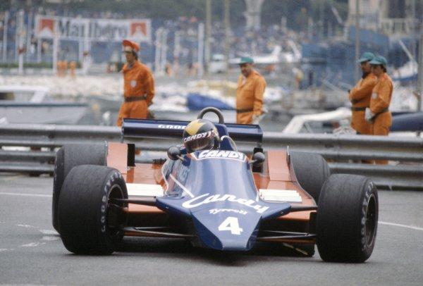 1980 Monaco Grand Prix.Monte Carlo, Monaco. 15-18 May 1980.Derek Daly (Tyrrell 010-Ford Cosworth), retired.World Copyright: LAT PhotographicRef: 35mm transparency 80MON30