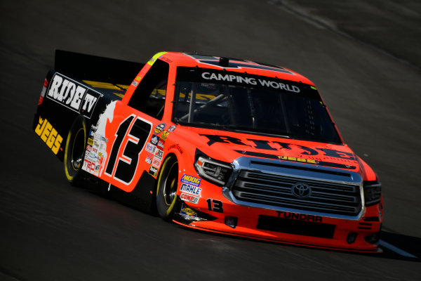 NASCAR Camping World Truck Series winstaronlinegaming.com 400 Texas Motor Speedway, Ft. Worth, TX USA Thursday 8 June 2017 Cody Coughlin, Ride TV/ Jegs Toyota Tundra World Copyright: Scott R LePage LAT Images ref: Digital Image lepage-170608-TMS-0216