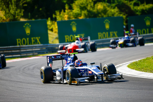 Hungaroring, Budapest, Hungary. Saturday 29 July 2017 Artem Markelov (RUS, RUSSIAN TIME).  Photo: Hone/FIA Formula 2 ref: Digital Image _ONZ9790