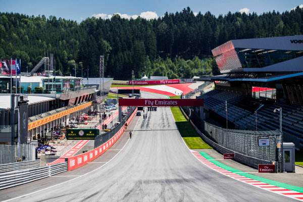 2017 GP3 Series Round 2.  Red Bull Ring, Spielberg, Austria. Thursday 6 July 2017. A view of the track. Photo: Zak Mauger/GP3 Series Media Service. ref: Digital Image _54I5441