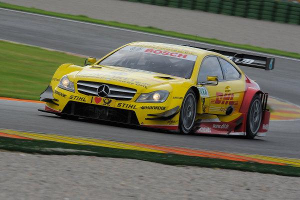 Round 9 - Valencia, Spain28th - 30th September 2012David Coulthard (GBR), Muecke Motorsport, AMG Mercedes C-CoupeWorld Copyright:  XPB Images / LAT Photographicref: Digital Image 2374257_HiRes