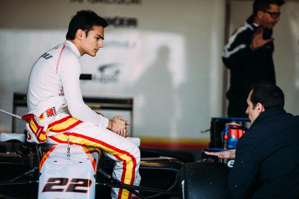 2016 GP3 Series Testing. Estoril, Portugal. Thursday 24 March 2016. Alex Palou (ESP) Campos Racing  World Copyright: Malcolm Griffiths/LAT Photographic. ref: Digital Image F80P4909