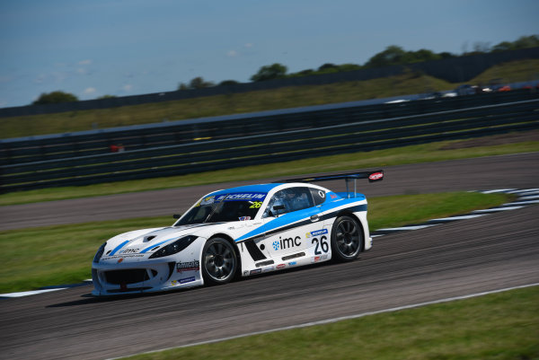 Michelin Ginetta GT4 SuperCup Rockingham, 26th-27th August 2017, Ian Robinson TCR Ginetta G55  World copyright.. JEP/LAT Images