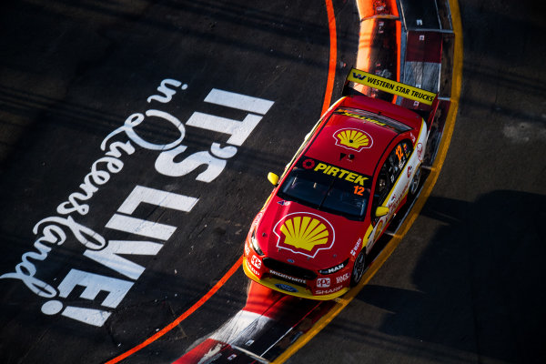 2017 Supercars Championship Round 12.  Gold Coast 600, Surfers Paradise, Queensland, Australia. Friday 20th October to Sunday 22nd October 2017. Fabian Coulthard, Team Penske Ford.  World Copyright: Daniel Kalisz/LAT Images Ref: Digital Image 201017_VASCR12_DKIMG_1503.jpg