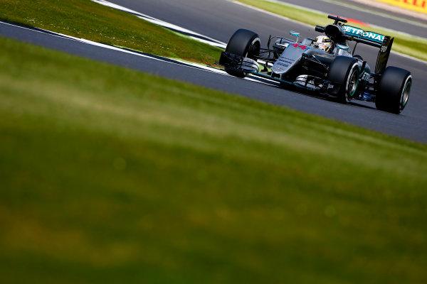 Silverstone, Northamptonshire, UK Friday 8 July 2016. Lewis Hamilton, Mercedes F1 W07 Hybrid. World Copyright: Hone/LAT Photographic ref: Digital Image _ONY7488