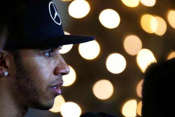 Bahrain International Circuit, Sakhir, Bahrain. Saturday 18 April 2015. Lewis Hamilton, Mercedes AMG. World Copyright: Alastair Staley/LAT Photographic. ref: Digital Image _79P6785