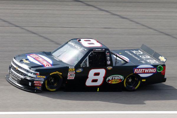 #8: John Hunter Nemechek, NEMCO Motorsports, Chevrolet Silverado Fleetwing/D.A.B. Construction