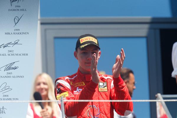 2014 GP2 Series Round 4. Red Bull Ring, Spielberg, Austria. Sunday 22 June 2014. Raffaele Marciello (ITA, Racing Engineering)  Photo: Alastair Staley/GP2 Series Media Service. ref: Digital Image _79P6916