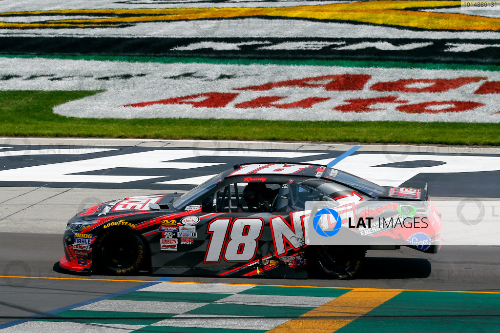 NASCAR XFINITY Series Alsco 300 Kentucky Speedway, Sparta, KY USA Saturday 8 July 2017 Kyle Busch, NOS Energy Drink Rowdy Toyota Camry celebrates his win  World Copyright: Russell LaBounty LAT Images