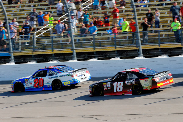 NASCAR XFINITY Series U.S. Cellular 250 Iowa Speedway, Newton, IA USA Saturday 29 July 2017 Ryan Preece, MoHawk Northeast Inc. Toyota Camry and Kyle Benjamin, Reser's Toyota Camry World Copyright: Russell LaBounty LAT Images