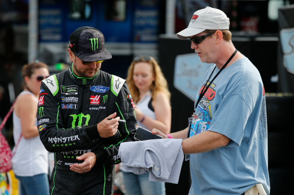 Monster Energy NASCAR Cup Series Overton's 400 Pocono Raceway, Long Pond, PA USA Saturday 29 July 2017 Kurt Busch, Stewart-Haas Racing, Monster Energy/Haas Automation Ford Fusion World Copyright: Matthew T. Thacker LAT Images