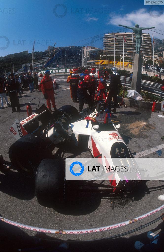 1991 Monaco Grand Prix.