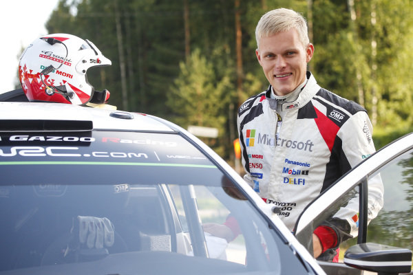 Ott Tanak could be the second Estonian to win Rally Finland. Markko Martin won the event in 2003.