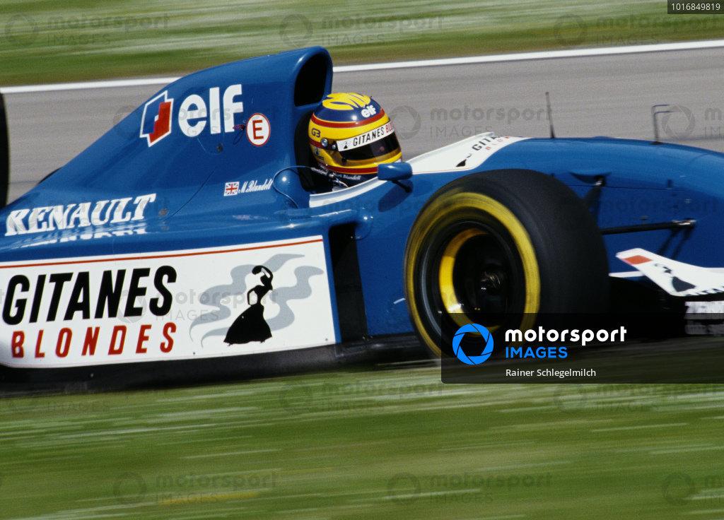 Mark Blundell, Ligier JS39 Renault.