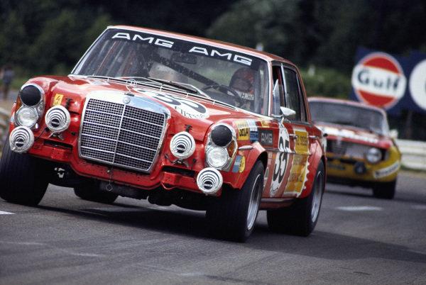 Hans Heyer / Clemens Schickentanz, AMG Mercedes Benz 300 SEL 6.8.