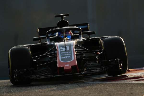 Pietro Fittipaldi, Haas F1 Team VF-18.