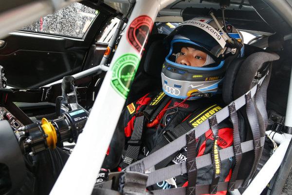Shaun Thong Wei Fung, Audi Hong Kong on the grid at Blancpain GT Series Asia, Rd9 and Rd10, Shanghai, China, 23-24 September 2017.