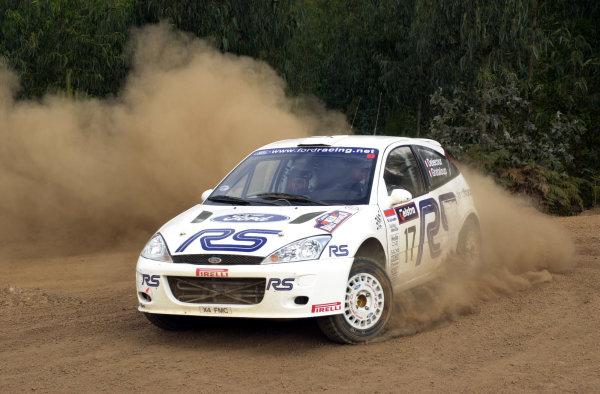 2001 World Rally ChampionshipTelstra Rally Australia, Perth, WA. 1-4 November 2001.Francois Delecour on stage 11.Photo: Ralph Hardwick/LAT