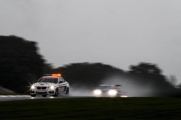 Safety Car leads #11 Martin Plowman / Kelvin Fletcher - Paddock Motorsport GT3