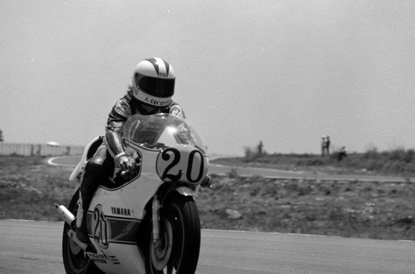 Johnny Cecotto, Yamaha.