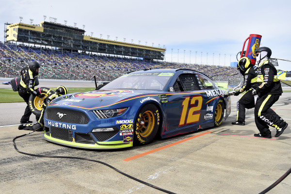 #12: Ryan Blaney, Team Penske, Ford Mustang Menards/Dickies