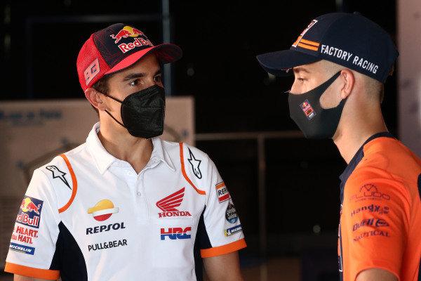 Marc Marquez, Repsol Honda Team, Pedro Acosta, Red Bull KTM Ajo.