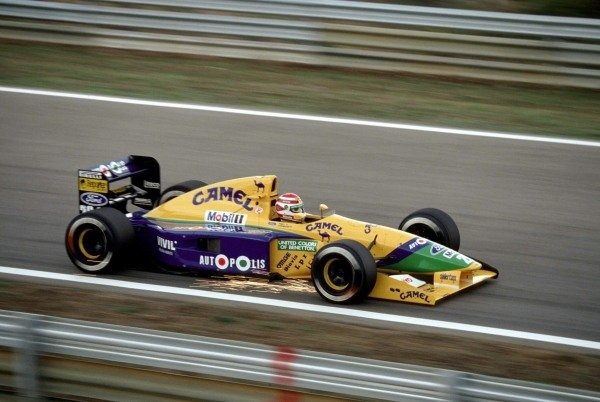 Nelson Piquet and Jean Alesi.